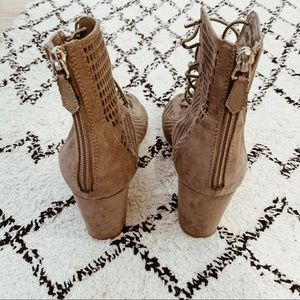 Forever 21 Shoes - Lace-Up Sandals